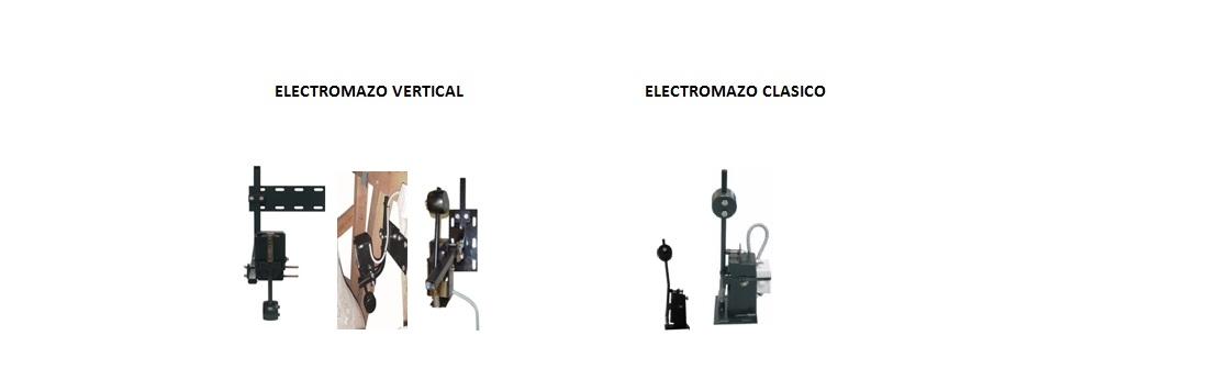 Motores y electromazos de percusión