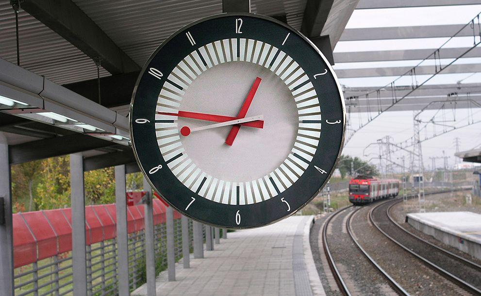 Estación de ferrocarril - Tecnikronos